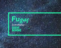 """Poster for """"Fugaç"""" theatre play."""