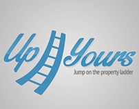 Up Yours! Logo design