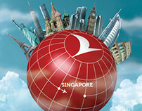 Turkish Airlines / Singapore Print