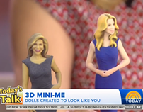 Kathie Lee and Hoda 3D prints