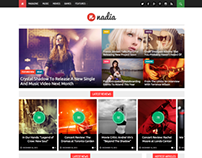 Nadia - Responsive WordPress News Theme