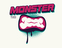 Monster tshirt