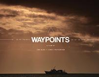 Waypoints film title design