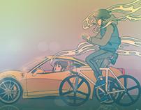 Ride, daybreak.