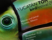 Marketing for Yucatán Toh Bird Festival