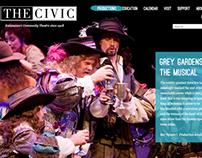 The Civic Theatre Website