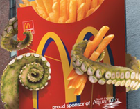McDonald's / South Carolina Aquarium Outdoor Campaign