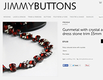 JIMMY BUTTONS Web-design