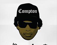 Eazy-E Icon Illustration
