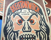Skeletonwitch poster