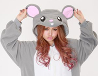 Mouse animal onesies