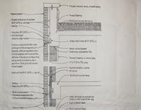 Masonry Veneer Wall Construction Drawing