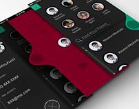 drop calling. call app UI.