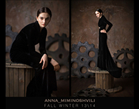 Anna Miminoshvili Fall Winter 2013\14