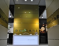 BVLGARI stand/antalya 2013/ hotel equipment