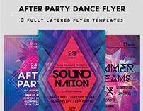 After Party 3 Flyer Pack