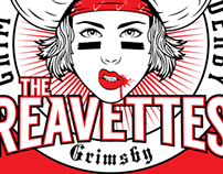 The Reavettes - Grim Reavers Roller Derby