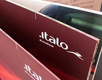ITALO Treno / NTV - Btl, Brandbook & Icons