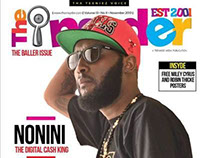 November 2013 issue Insyder Magazine design & layout