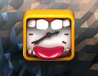 Laugh o´clock Icon