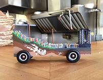 Sasquatch! Festival: Pinewood Derby Car