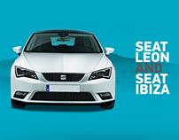 Seat Leon & Ibiza / Website