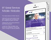 BT Global Services Mobile Website