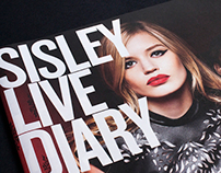 SISLEY - Diary, Catalogue, Billboards, Web