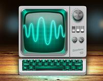 "Oscilloscope ""Wave 19"""