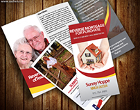 Brochure design for REVERSE MORTGAGE