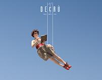 DECRU' Travel Concept Space -Art Direction, Branding