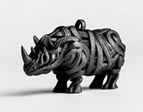 Rhino 3D Model & Print