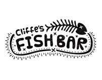 Logo & Wallpaper: Cliffe's Fish Bar