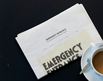 Emergency Entrance Newspaper