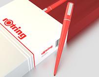 Rotring - Pens Design Render