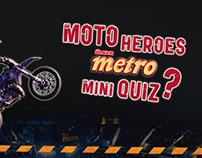 Ülker Metro Moto Heroes Quiz App