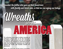 Wreaths Across America Poster