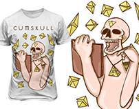 CUMSKULL SHIRT