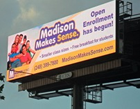 Madison Makes Sense Billboards