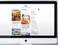 Vento Blog Design