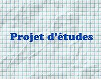 Projet d'études