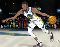 Kevin Durant - illustration