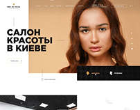 Homa Page — Beauty Salon