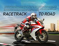 Honda Racetrack to Road ad
