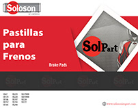 Brake Pads - SolPart® / www.Solosonimport.com