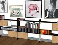 Projeto de mobiliário / Residência Regina