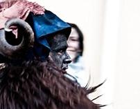 Su Bathiledu-Lula's traditional carnival-Sardinia.