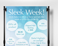 Sleek Week Advertisement