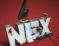 Nex Games Nex Group // Lettering