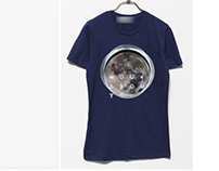 Moon About Tee Design